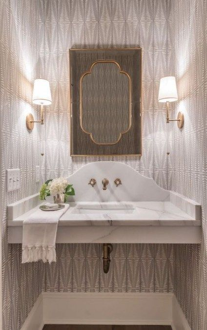 64 Ideas For Bathroom Cabinets Luxury Powder Rooms…