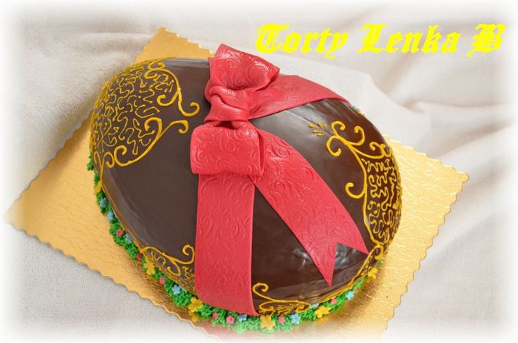 Eastern chocolate egg