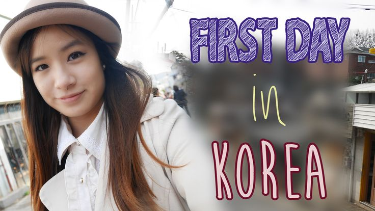 First Day in Korea | Shopping & Sightseeing