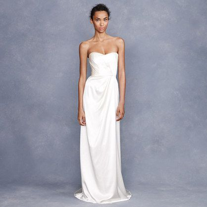 Save 20% on all J. Crew wedding gowns now through March 3rd! Enter code LOVE at checkout