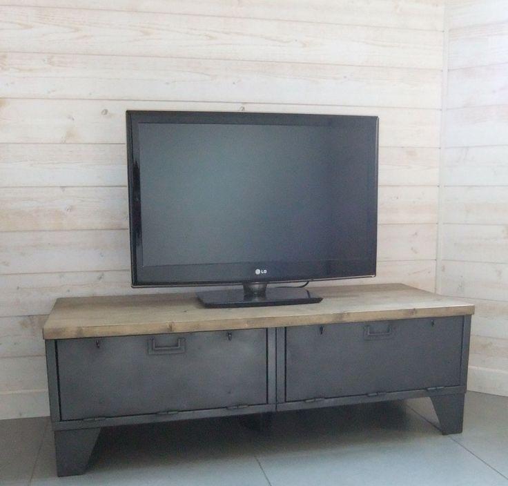 55 best cr ation restauration de meuble industriel images on pinterest industrial furniture - Restauration meuble industriel ...