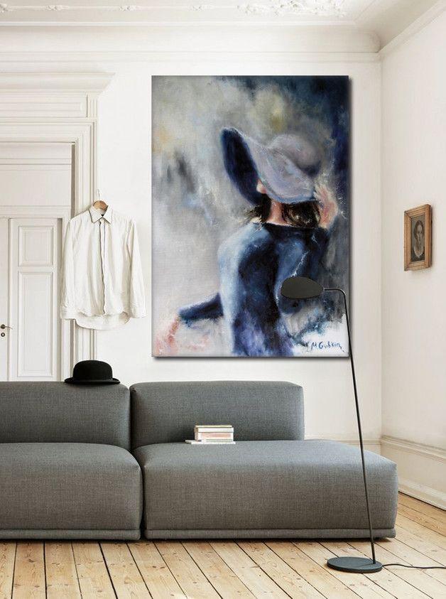 Obraz na płótnie Woman 70 x 100 x 2 - Patrycja-Kita - Wydruki na płótnie