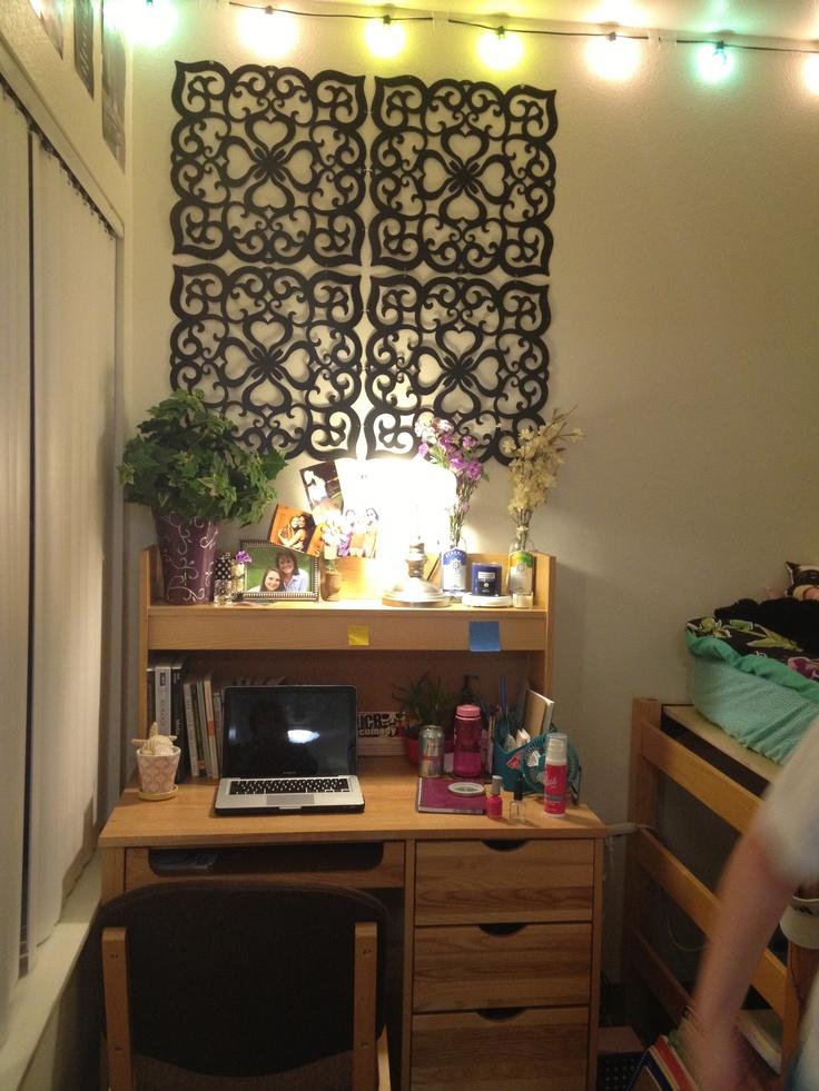 college dorm desk my garden ey touch lights wall. Black Bedroom Furniture Sets. Home Design Ideas