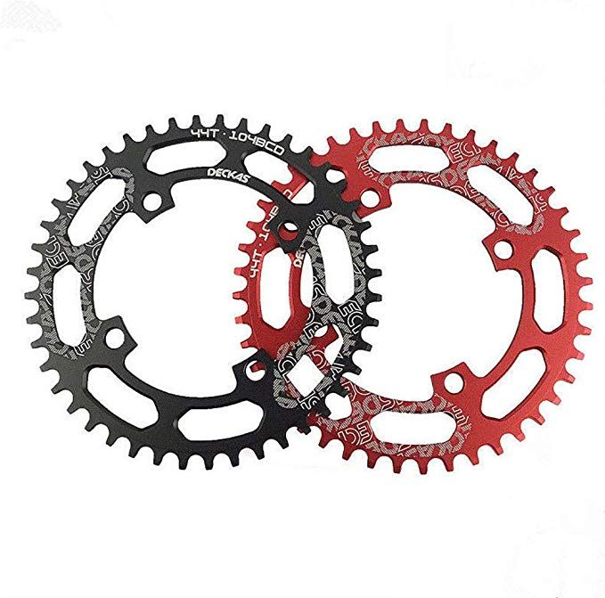Cooloh Single Chainring 40t 42t 44t 46t 48t 50t 52t 104 Bcd Bike