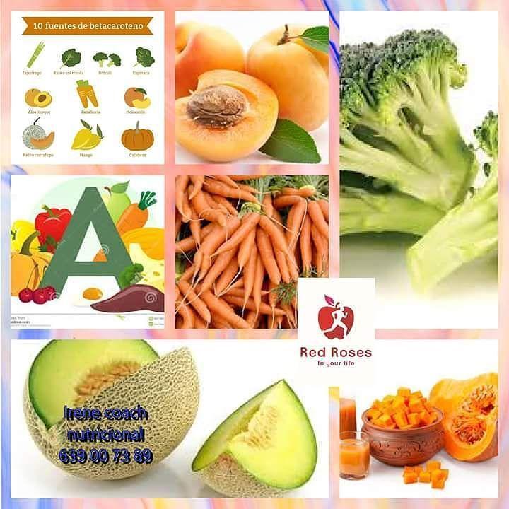 Qué alimentos contienen mucho betacaroteno? Al ingerirlo nuestro organismo lo transforma en vitamina A y es uno de los micronutrientes más eficaces para reparar el daño en la piel.  ANIMATE A CONSUMIRLO!!! TE RESULTA DIFÍCIL TODOS LOS DÍAS?  PREGÚNTAME Y TE DIGO COMO LO HAGO YOes muy sencillo y cada día aporto lo necesario a mi cuerpo.  #aprendehabitossaludablesypierdepeso #siquierespuedes #kilosfuera #movimientohealthylife #movimientoredroses #pinterest