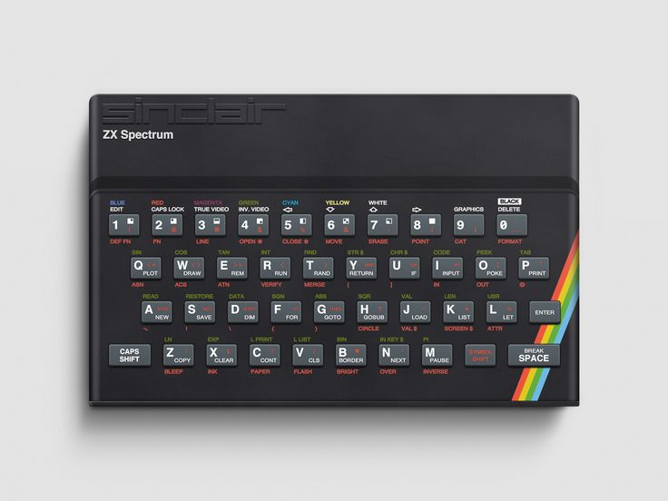 ZX Spectrum - now this brings back memories...