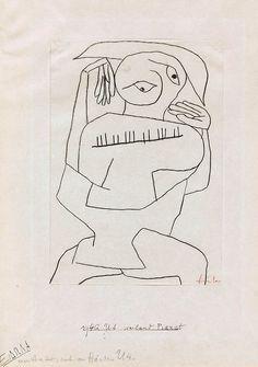 paul klee, pianist, 1940.