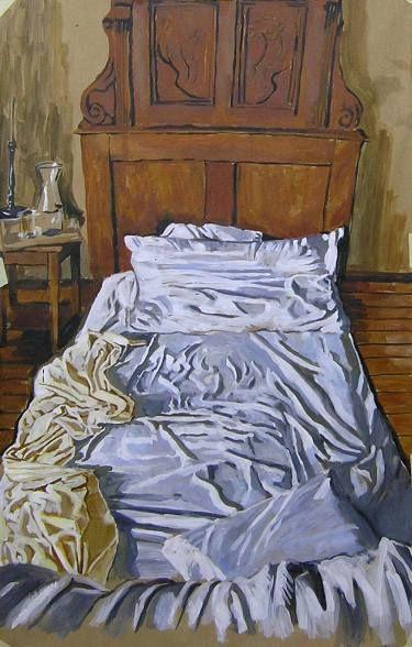 "Saatchi Art Artist Helena Janecic; Painting, ""Two-way autobiography"" #art"