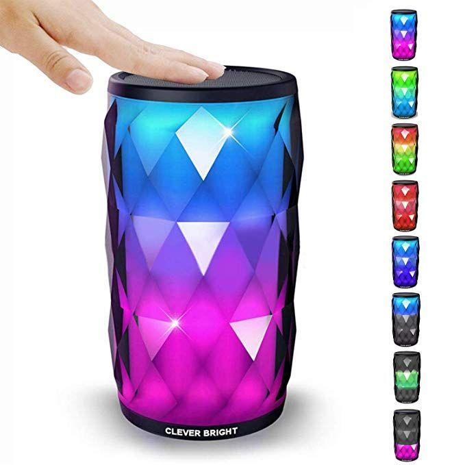 Bluetooth Speaker Portable Speaker Hifi Speaker AUX Wireless Speaker Lighting