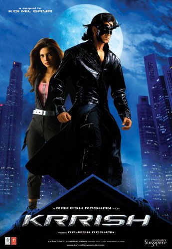 Starring:Hrithik Roshan and Priyanka Chopra 2006 Movie IMDb:6.3 Hrithik Roshan's all great movies. But that's another nice. I would strongly recommend you to watch. The film is too long, but believe me you'll watch every second of excitement. :) Koi ... Mil Gaya sequel. So cool the 2nd movie