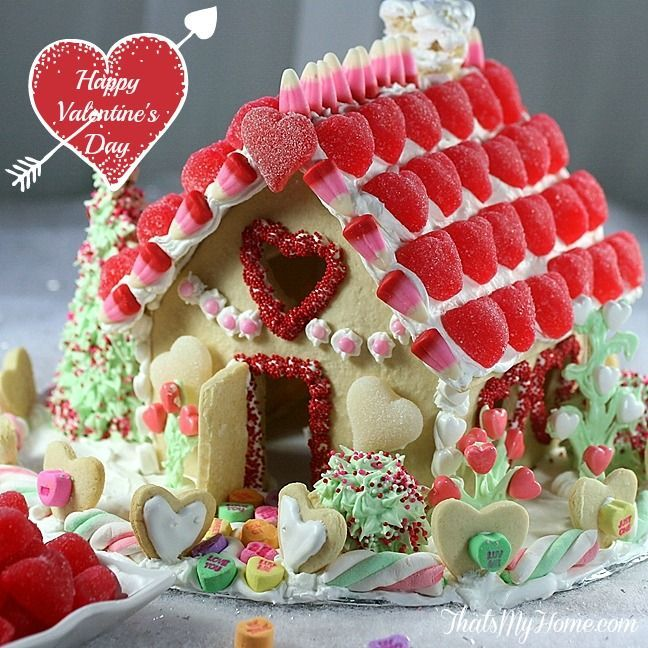Valentine Dessert Sugar House from That's My Home.com