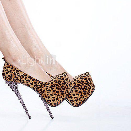 Zapatos de mujer - Tacón Stiletto - Tacones / Punta Redonda.
