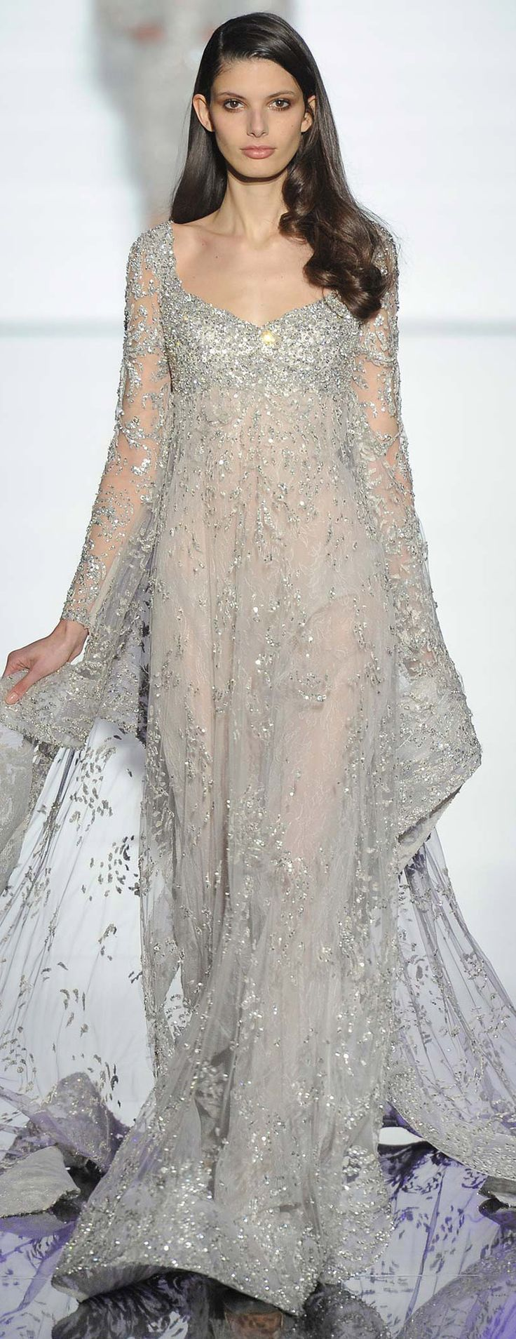 Michal negrin wedding dress   best My Runway images on Pinterest  Beautiful Black and Colors