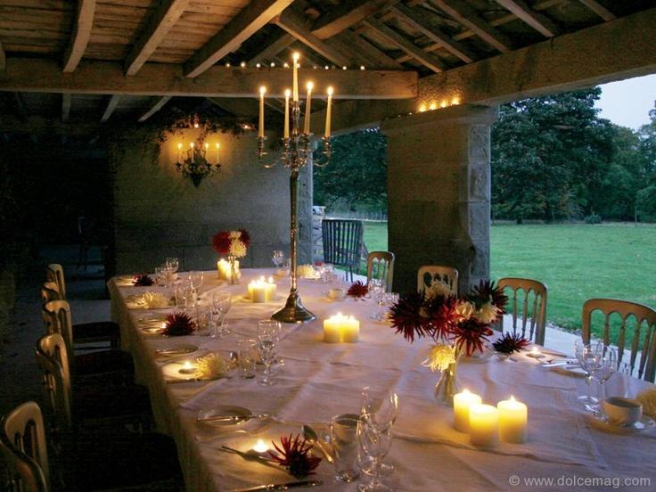 Can I Come Swinton Park Deehouse Alfresco Outdoor Wedding North Yorkshire