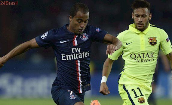 PSG x Barcelona: Em melhor fase, Lucas enfrenta Neymar hoje na Liga dos Campeões