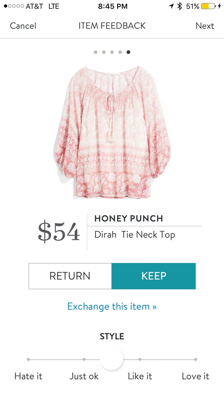#stitchfix #review I request something in #blush -