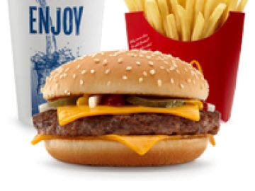 If you like McDonald's, you should love to hear about this! Their new  Quarter Pounder Burgers are Buy One, Get One FREE June through June at  participating ...
