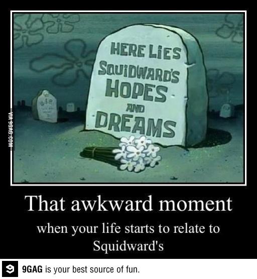 You like Crabby Patties dontcha, Squidward?