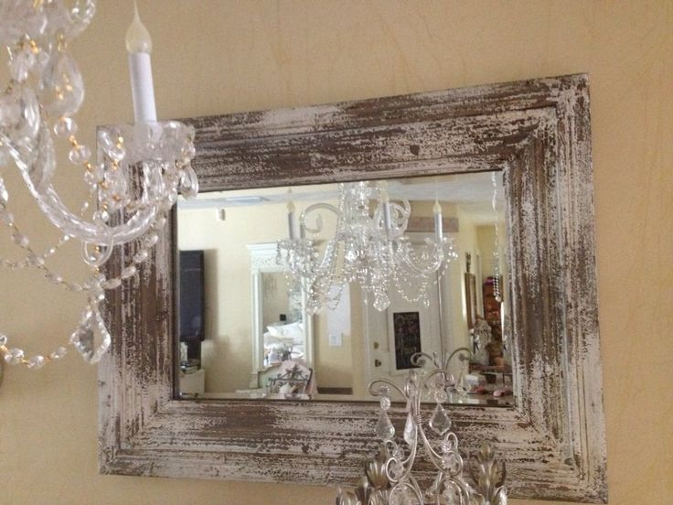 My newest bargain find the old barn wood mirror that now for Buy old barn wood