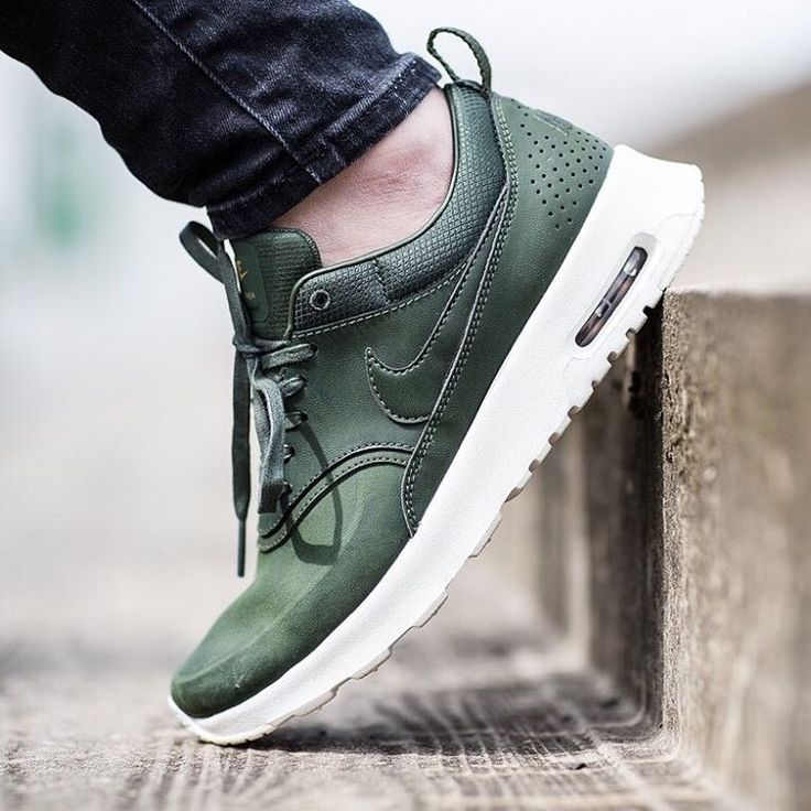 Nike wmns Air Max Thea Premium: Olive | Sneakers: Nike Air Max Thea |  Pinterest | Air max thea premium, Air max thea and Air max