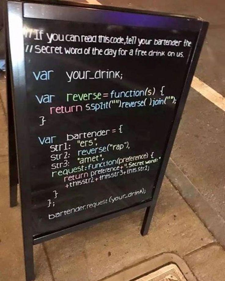 "598 Suka, 32 Komentar - Electronics Engineering Tech 🔌 (@semielectronics) di Instagram: ""Free drinks for programmers.. #engineering #design Repost from @intengineering #regram…"""
