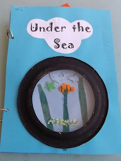 Mrs. Vento's Kindergarten: Ocean  Under the sea book