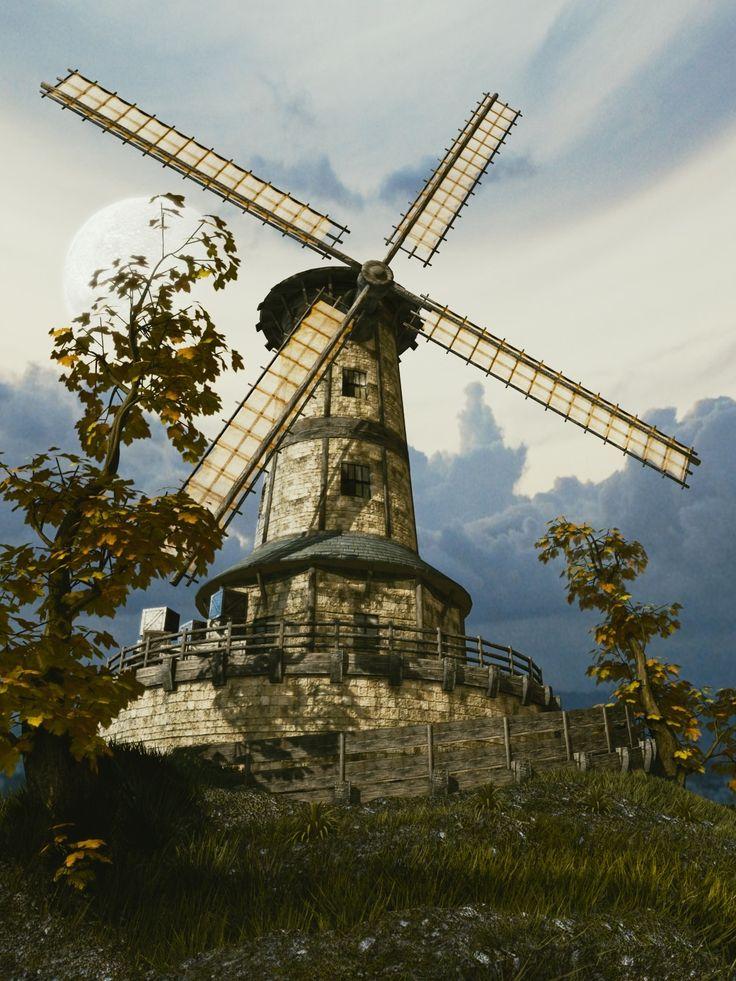 The Mill, zoltan miklosi on ArtStation at https://www.artstation.com/artwork/DWO8e