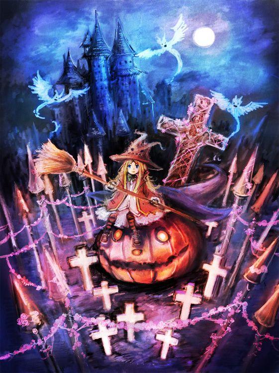 halloween girl - I Luv Halloween Manga