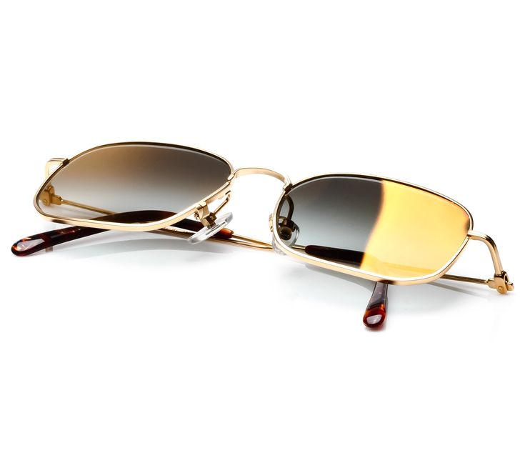 Paolo Gucci 7415 21K Gold Plated (Black Gradient Flash Gold)