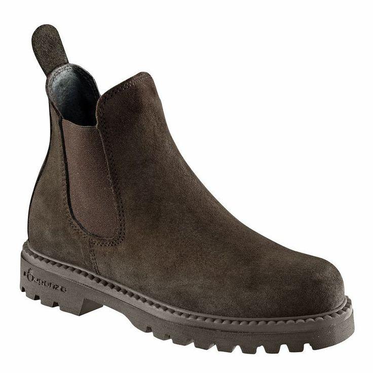 EQUITAÇÃO - calçado Calçado de homem - Botins SENTIER 300 cast 35-46 FOUGANZA - Por tipo