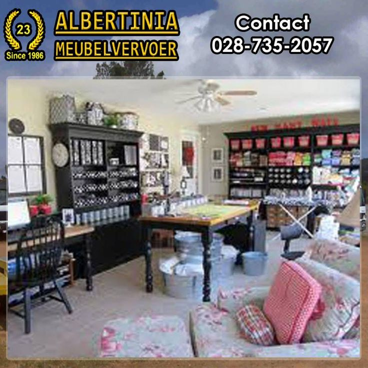 Storage space becoming a problem? Contact Albertinia Meubel Vervoer for a free quote on storing all your extra belongings and free up your space. #storage #furniture