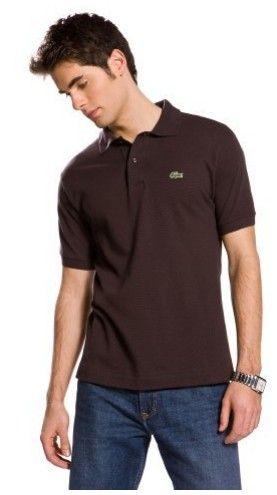 Lacoste chocolate #polo #shirt #men #fashion