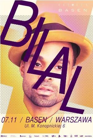 Wygraj bilet na koncert Bilala w Warszawie 07.11.2014. Więcej info: http://klub.fm/2014/11/konkurs-bilal-warszawa/