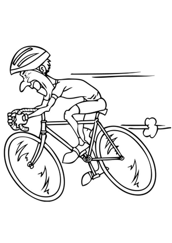 Kids Riding Bicycle Coloring Page In 2020 Kids Printable Coloring Pages Coloring Pages For Kids Coloring Pages
