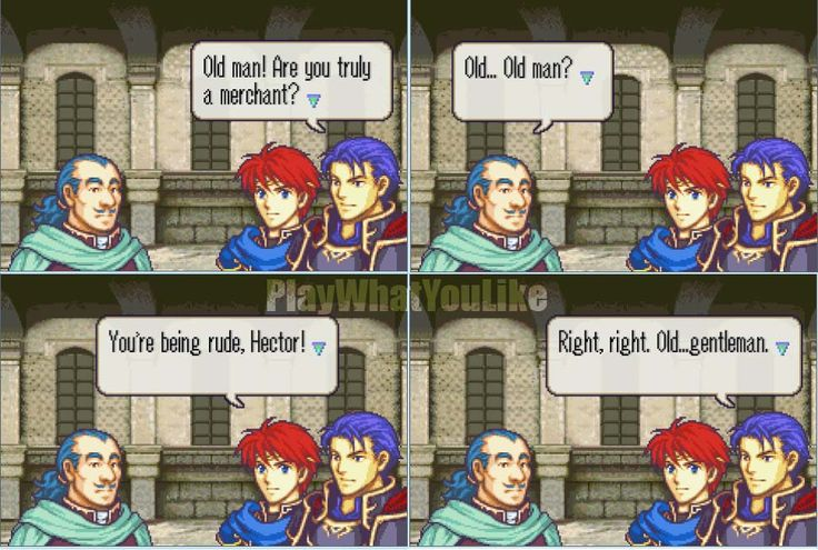 fire emblem funny - Google Search aahhh Hector...