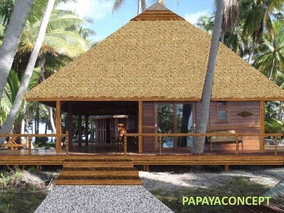 papayaconcept concepteur constructeur de fare villa lodge bungalow sur pilotis en bois et. Black Bedroom Furniture Sets. Home Design Ideas