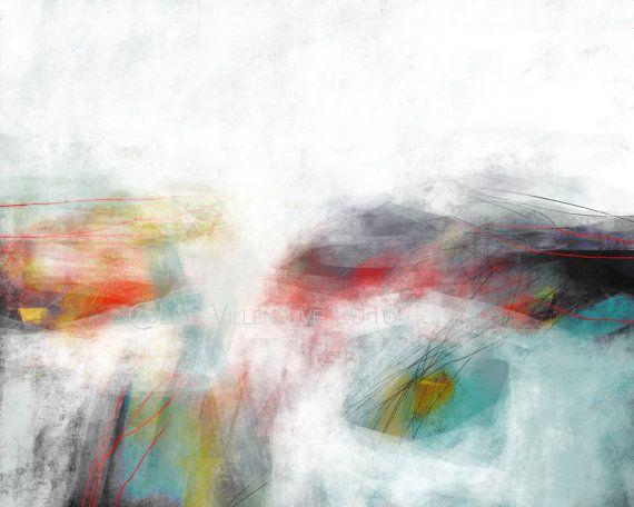 Dessin oeuvre sur papier art abstrait impression d'art