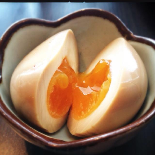 Shoyu Tamago | Nice Food | Pinterest