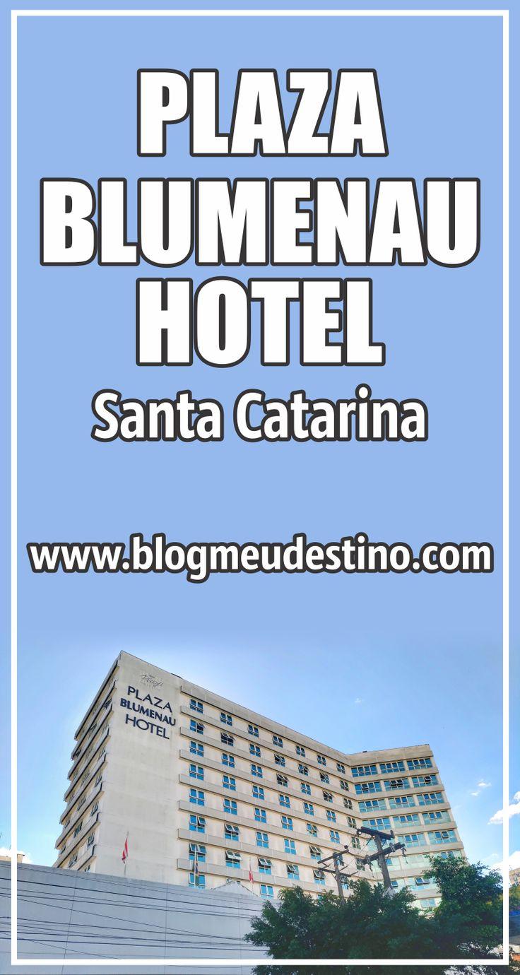 O Plaza Blumenau Hotel é uma ótima opção de hospedagem no Centro de Blumenau. O hotel está perto de várias atrações da cidade.