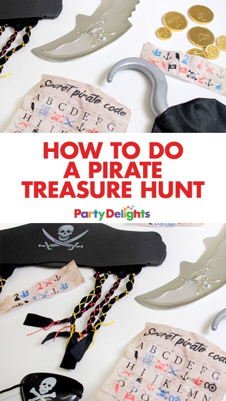 how to set up a treasure hunt for adults