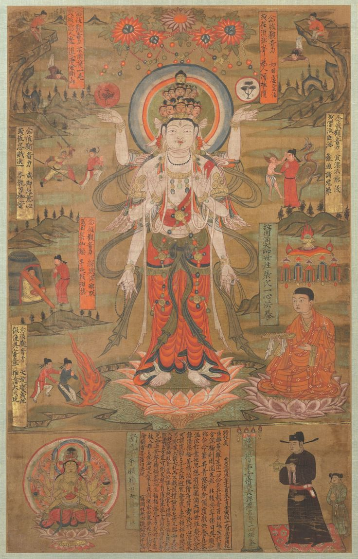 Eleven-Headed Guanyin