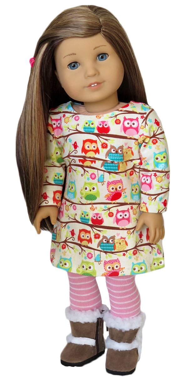 Silly Monkey - Knit Owl Dress and Striped Tights, $17.00 (http://www.silly-monkey.com/products/knit-owl-dress-and-striped-tights.html)