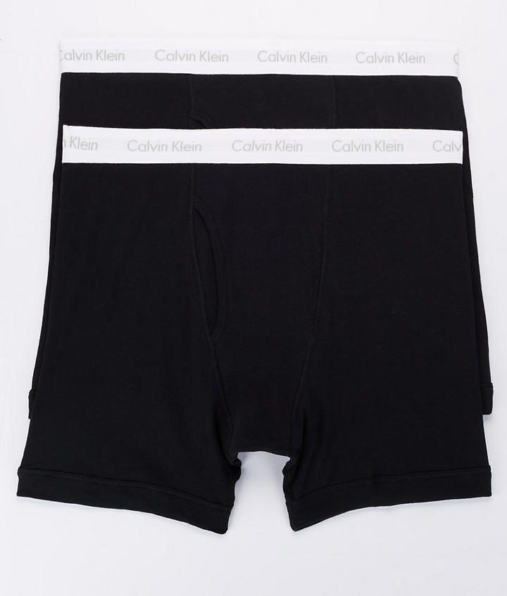 Calvin Klein Classic Fit Tall Boxer Brief 2-Pack Underwear - Men's