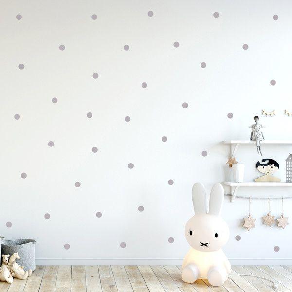 Wandtattoos – Wandtattoo Punkte dots 60 Stück a 4cm M2231 – ein Designerstück von IlkaParey bei DaWanda