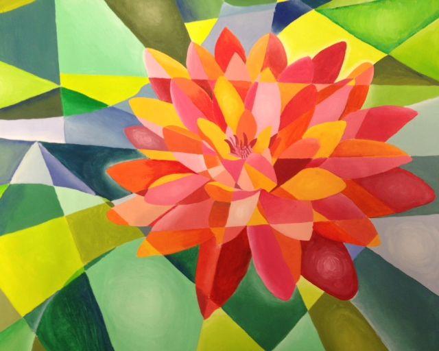 Cubism Painting High School Art