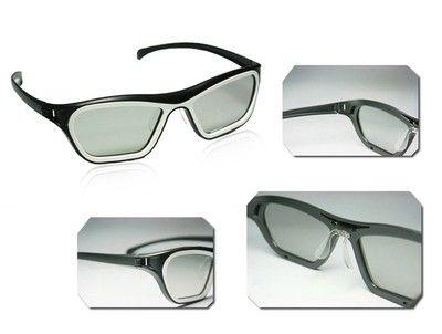 2x vivid polarized realD 3D passive Glasses LG TV monitor sony / sunglasses