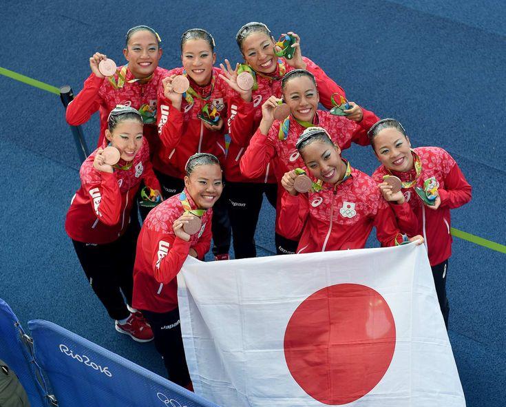 朝日新聞デジタルの写真特集「輝いたマーメイドたち」です。 #リオ五輪 #シンクロ