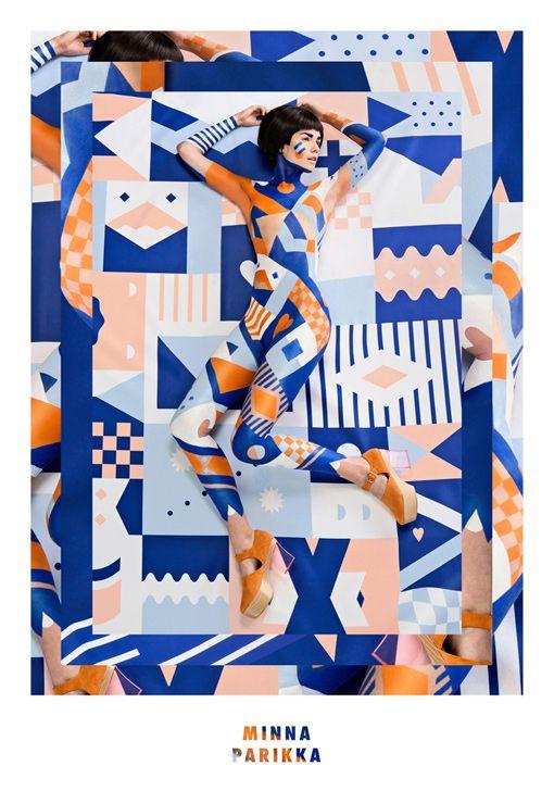 Janine Rewell for Minna Parikka SS14  Design Resources