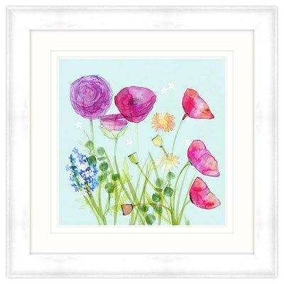 Watercolour 5 Framed at Whistlefish Galleries - handpicked contemporary & traditional art that is high quality & affordable. Available online & in store
