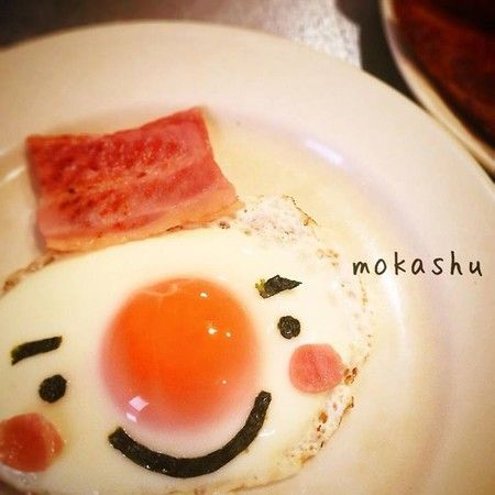 snowman sunny side up